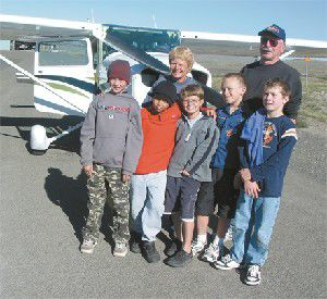 Cub Scouts take to the sky