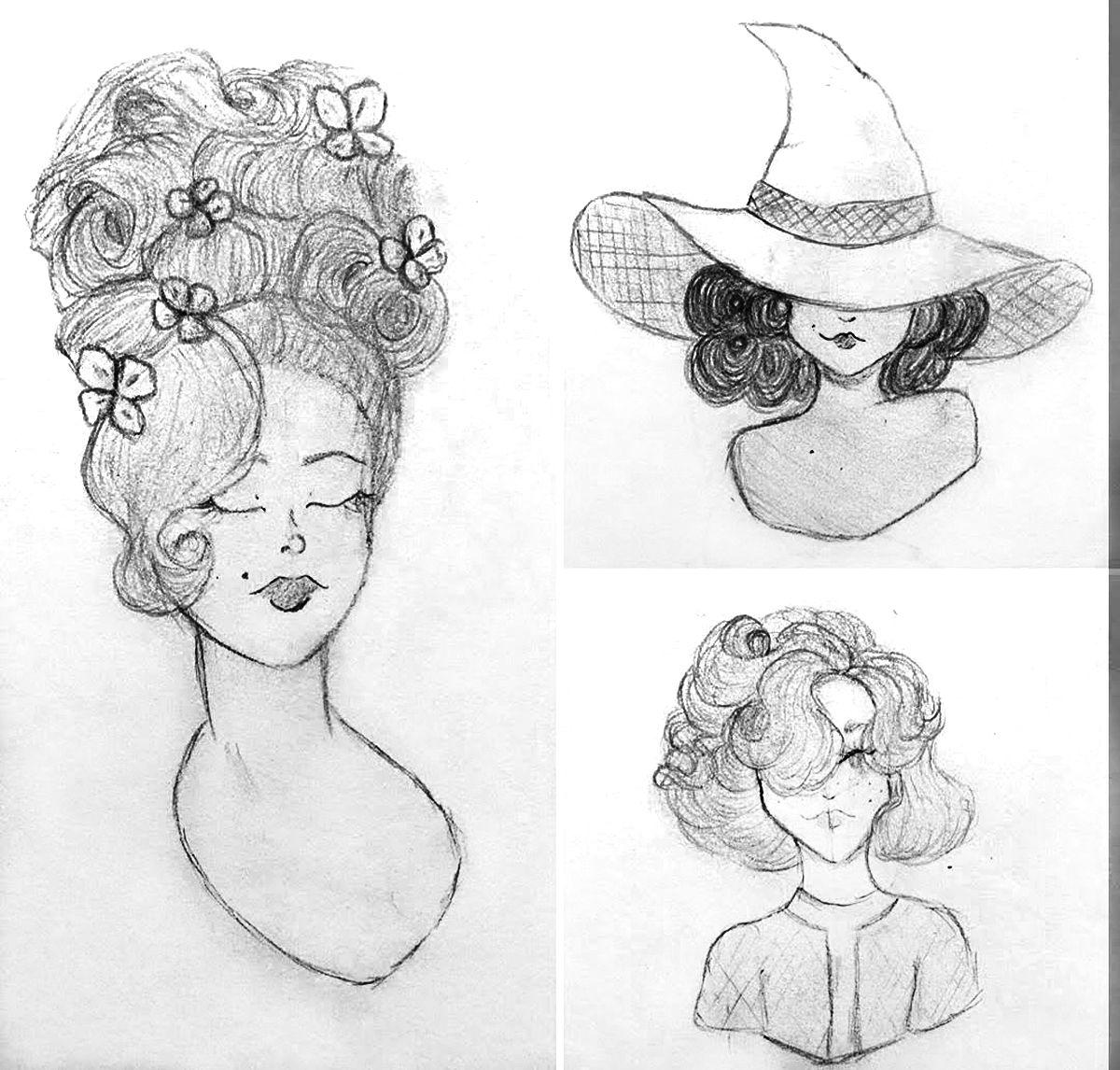 Drawings by Kodie Kiser