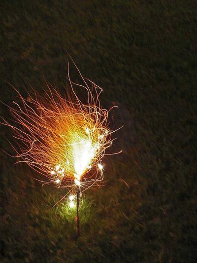 Morning-glory sparkler