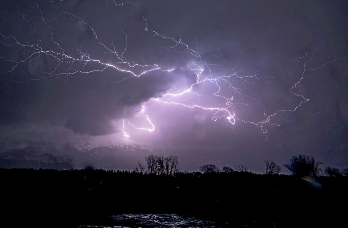 April Lightning