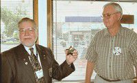 Don Green receives Rotary's 'silver star'