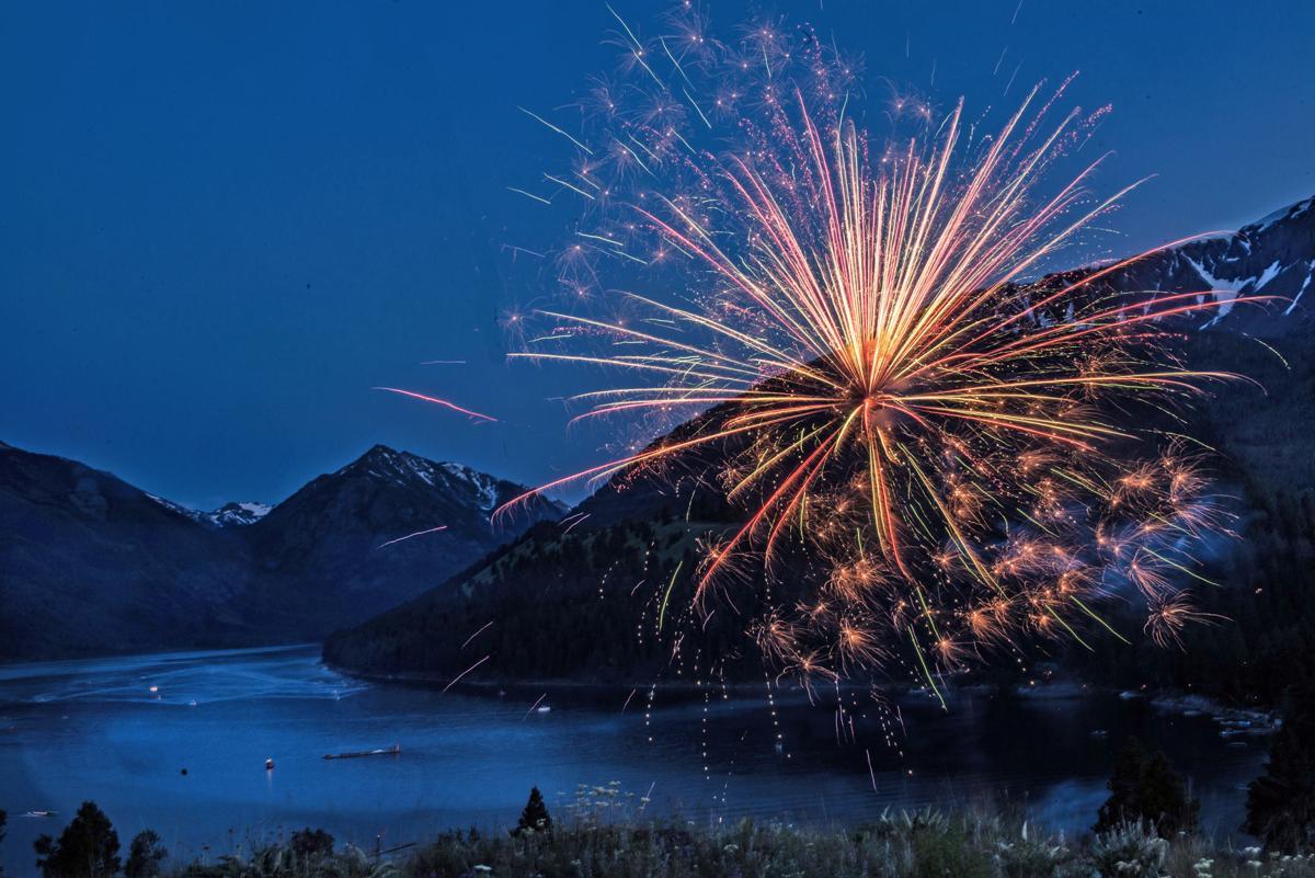 Wallowa Lake Fireworks 4th of July 2019