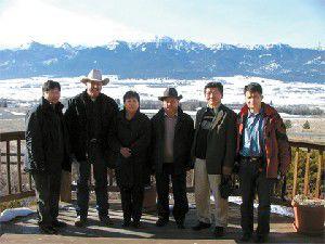 Mongolians visit Wallowa County