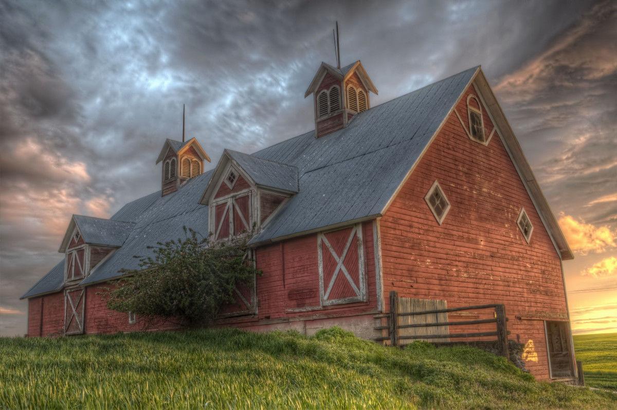 """""""Eastern Oregon Barn"""""""