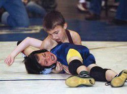 Hayes takes state's top medal at kids' wrestling tournament
