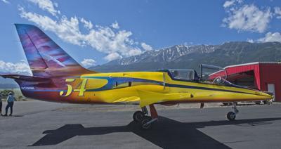 L-39 jet aircraft