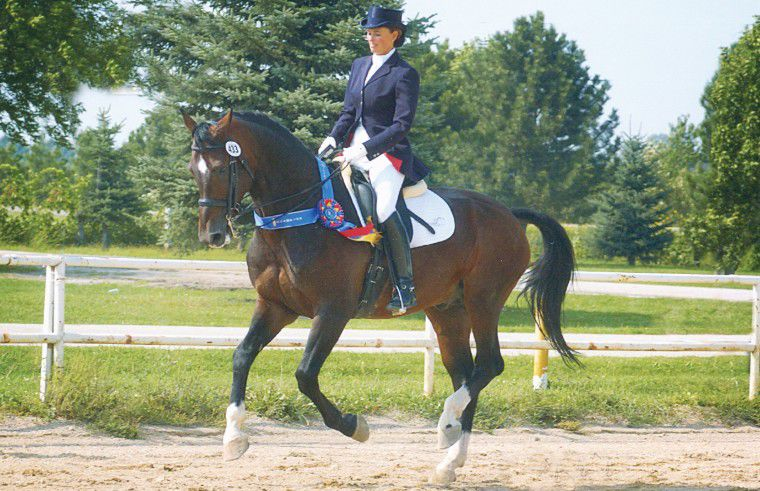Horsewoman trains in Wallowa County for Olympics