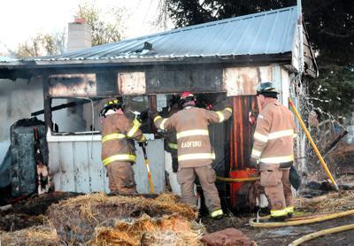 Blaze destroys bunk house on Joseph ranch
