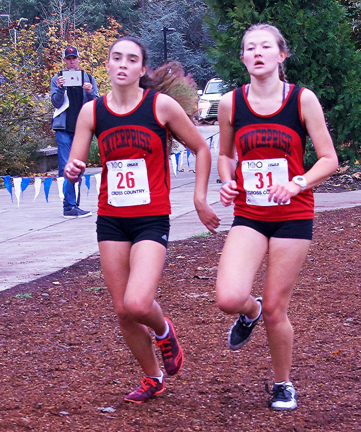 Cross-country boys and girls cruise to second at state meet