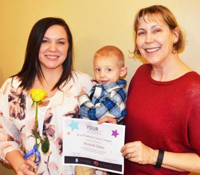Single mom from Lewiston wins Live Your Dream Award