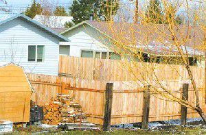 Joseph grapples with fences that exceed height limits
