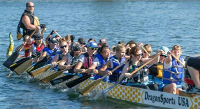 Dragon boats due in town in April