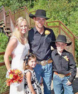 Couple marries in Idaho