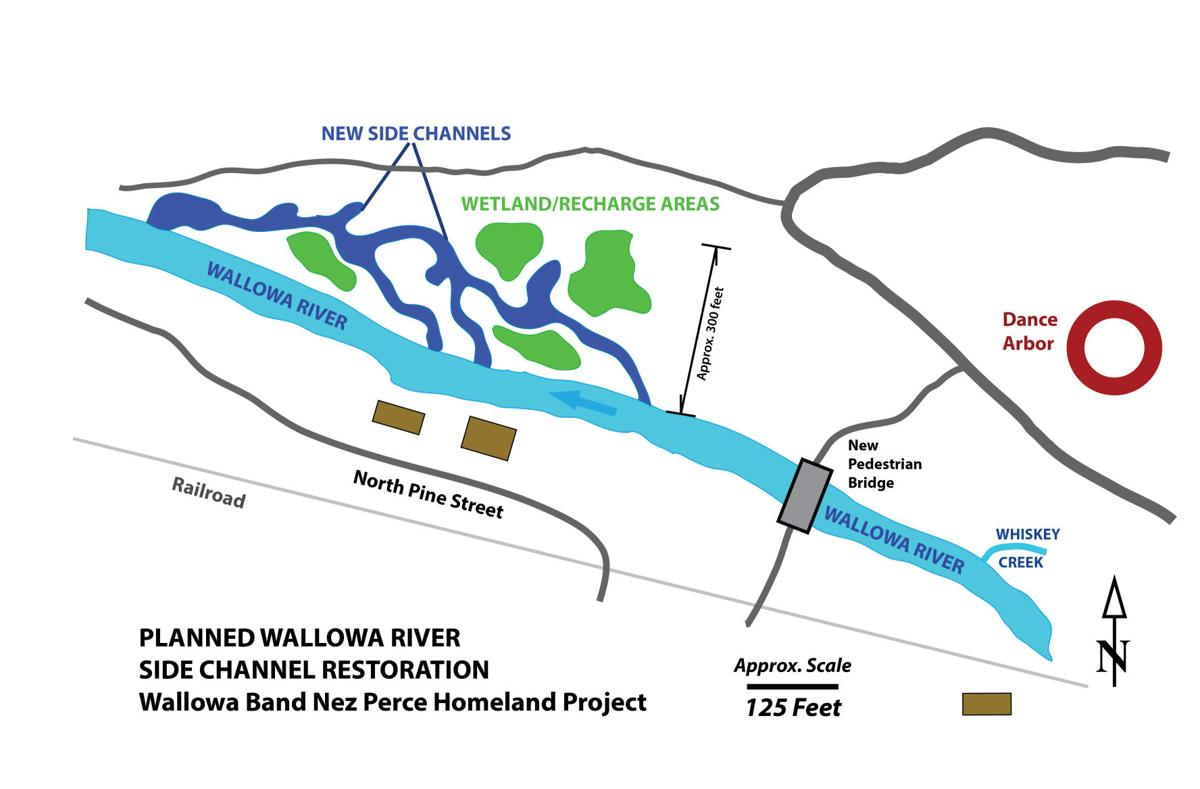 Tamkaliks River Restoration Map**