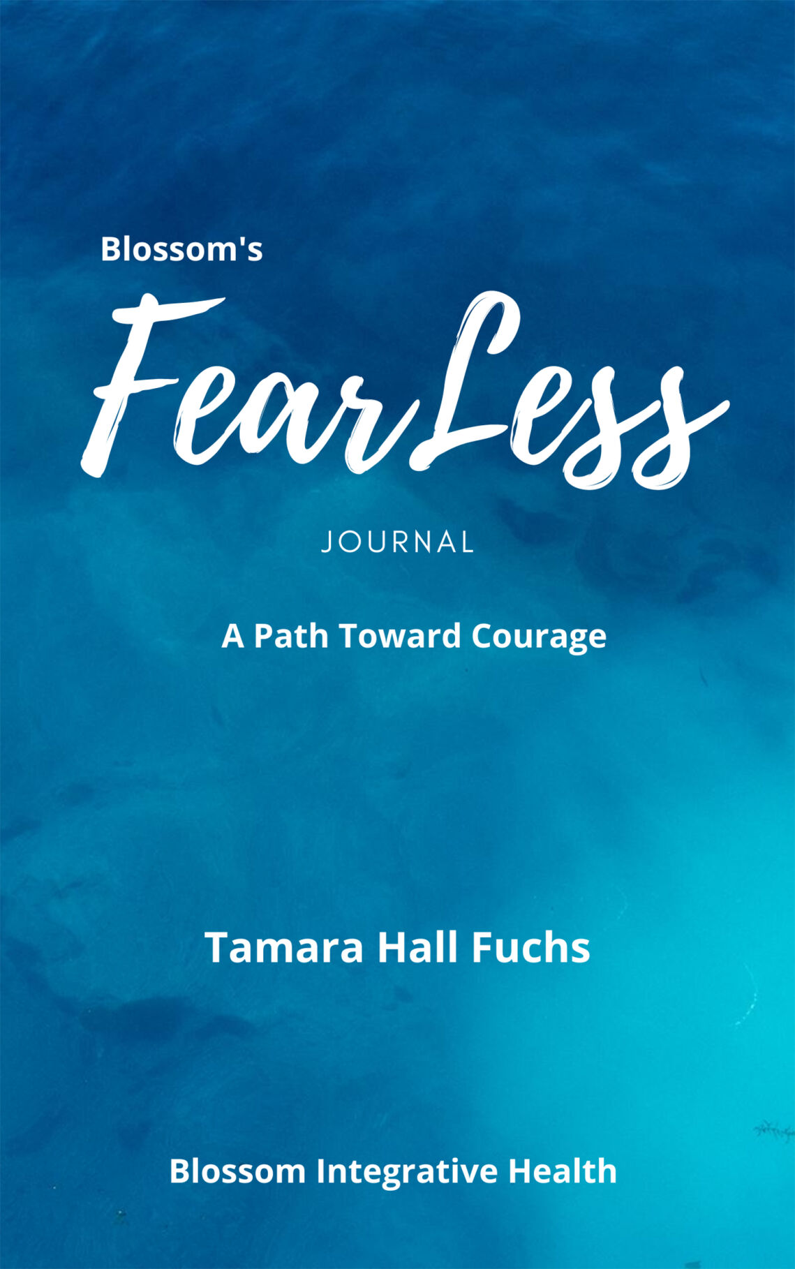Book Cover Blossoms fearless journal