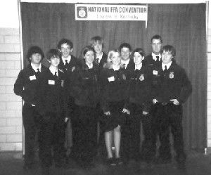 Enterprise FFA chapter members attends national convention
