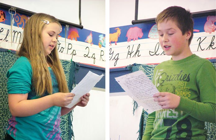 Writer-in-residence gives students chance to step into literary spotlight