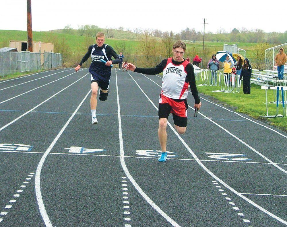 Local track teams  win Joseph meet