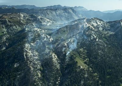 Granite Gulch Fire Aug 1