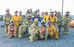 Enterprise, Joseph firefighters join forces