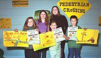 Students receive traffic safety tips