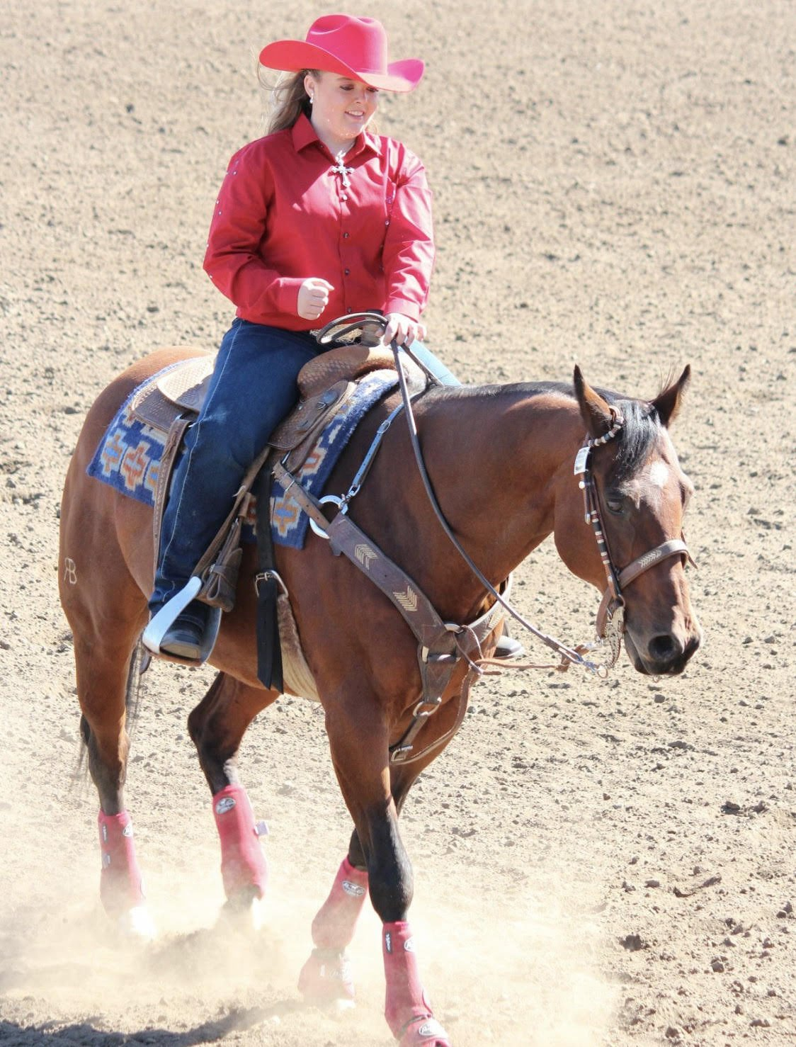 Zacharias competing for Elgin Stampede queen
