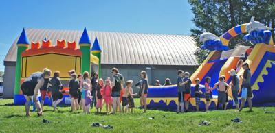 Wallowa Elementary School end of year fun