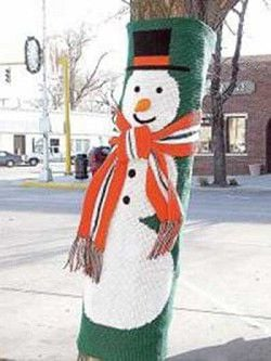 Nutty knitting contest to liven city streets