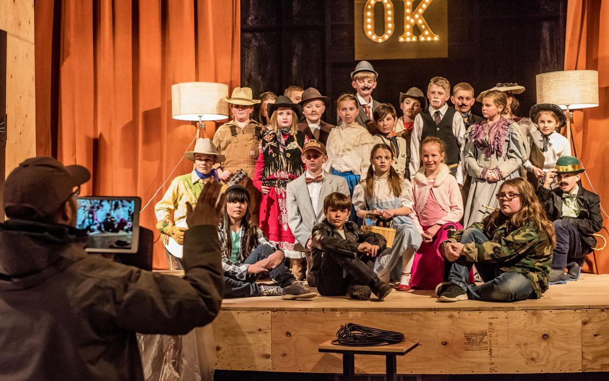 Fischer's class honors OK Theater's centennial anniversary #1