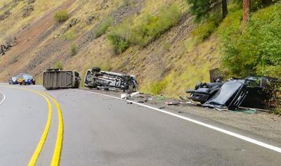 fatal crash near Minam