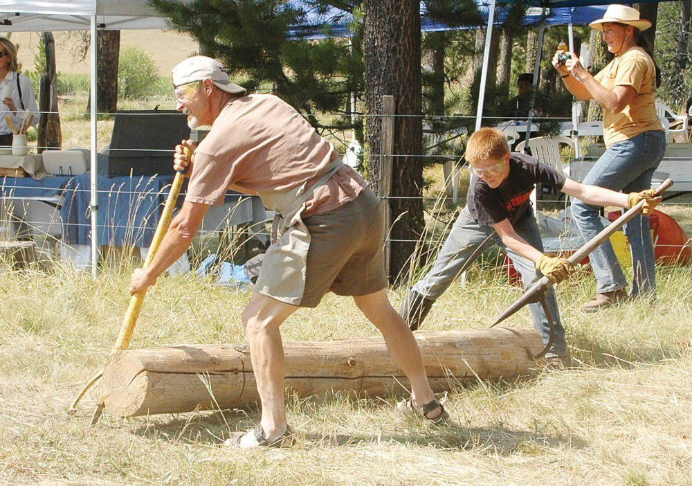 Maxville Gathering initiates logging contest