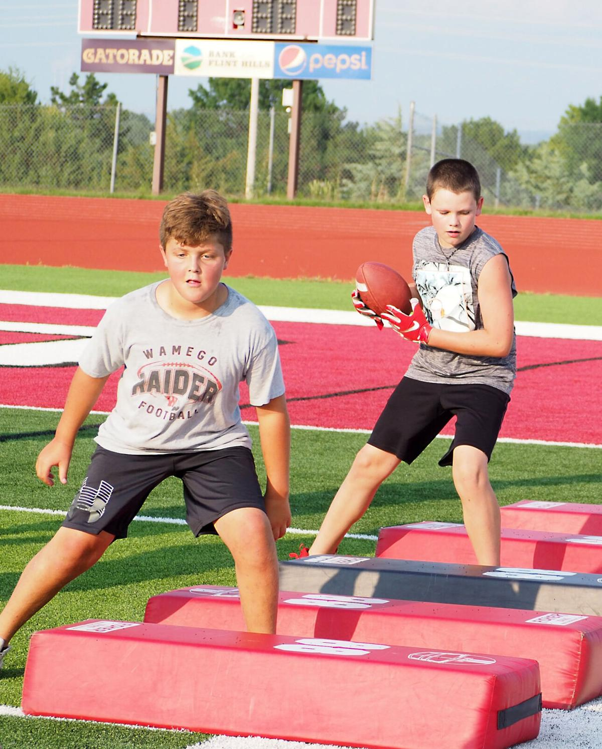Junior Raider Football Camp - July 19