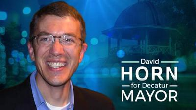 Dr. David Horn announces candidacy for Decatur Mayor