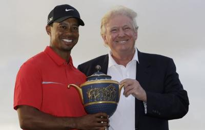 President Trump and Tiger Woods