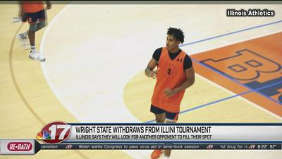 Wright State withdraws, Illini looking for a new team to fill spot