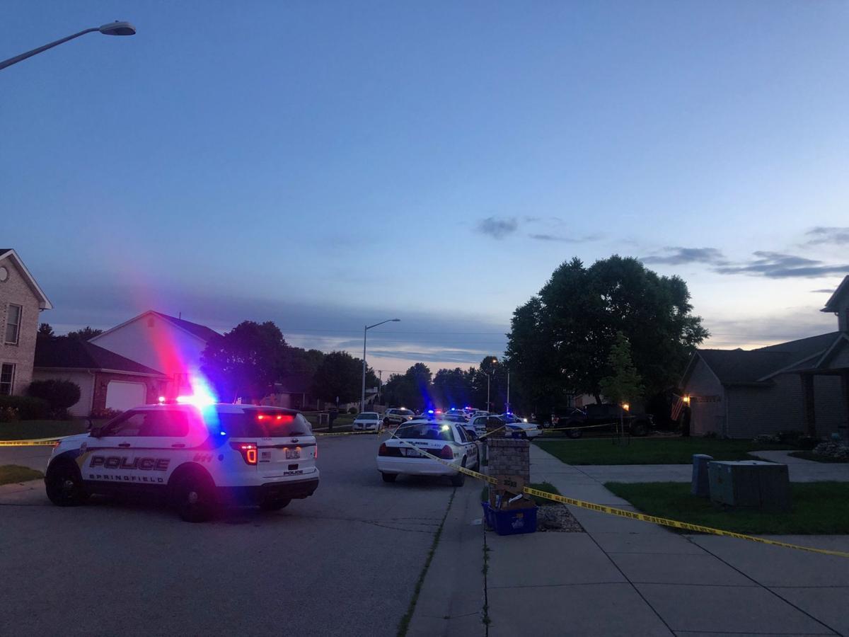 Large crime scene investigation off Rochester road | Top