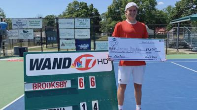 Brooksby wins the 21st Annual Ursula Beck Pro Tennis Classic