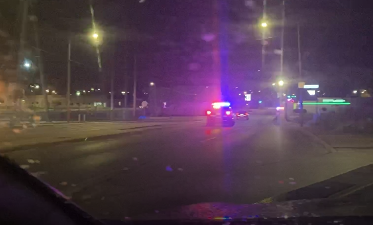 Police chase, Decatur