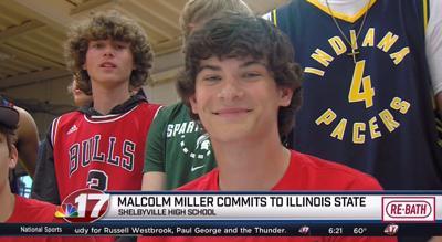 Malcolm Miller signing