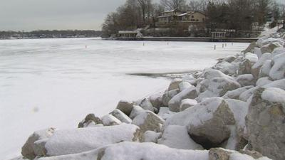 Water level drops in Lake Decatur   Top Stories   wandtv com