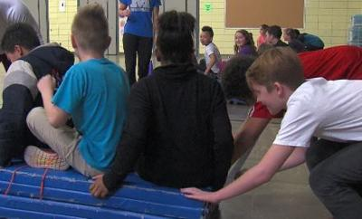 Gym class Olympics feature tough competition