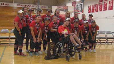 Mt. Zion softball returns home after historic season