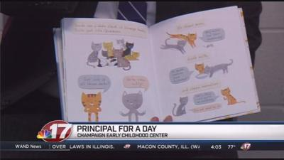 State Senator participates in 'Principal for a Day' program