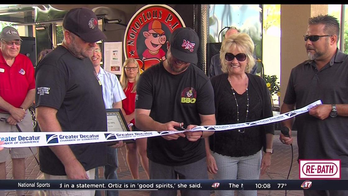Notorious P I G  food truck honored with ribbon cutting | Videos