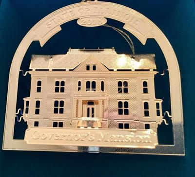 Governor's Mansion on city ornament