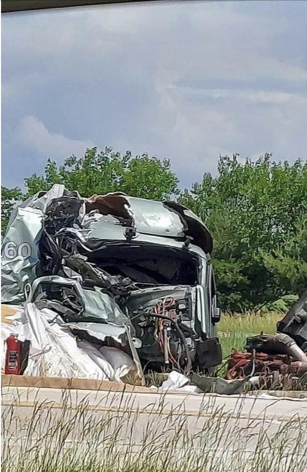 I-55 Divernon Crash