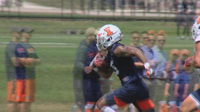 Illinois football will have better depth at the wide receiver position