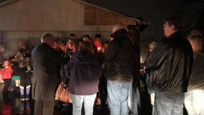 Vigil held in honor of Mary Hinton