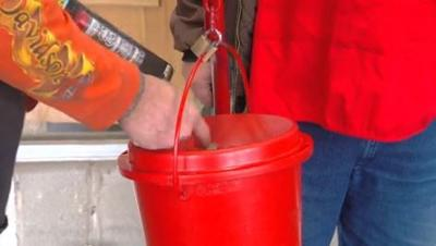 Salvation Army bell ringers bring donations, smiles