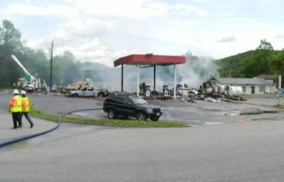Virginia gas station explosion